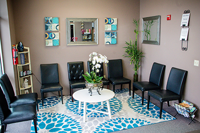 Gresham Massage waiting room